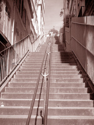 Treppe am Montmartre