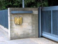 Bonn - Eingang Villa Hammerschmidt
