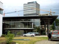 Bonn - Plenarsaal und Langer Eugen