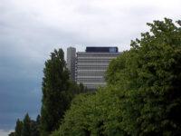 Bonn - Stresemannufer und Langer Eugen